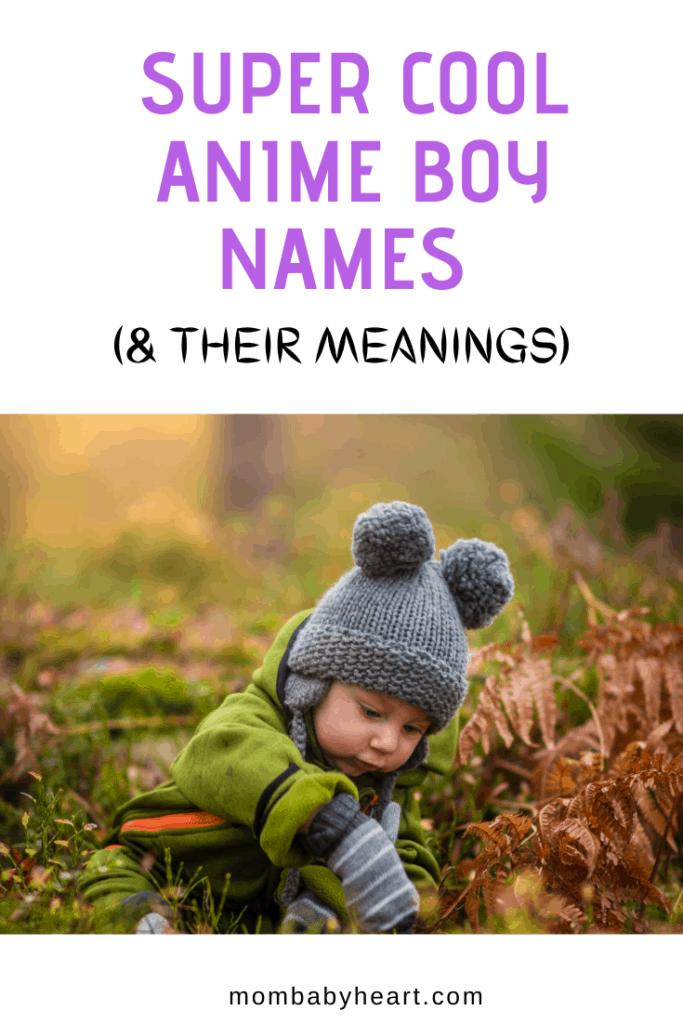 Image Of Anime Boy Names