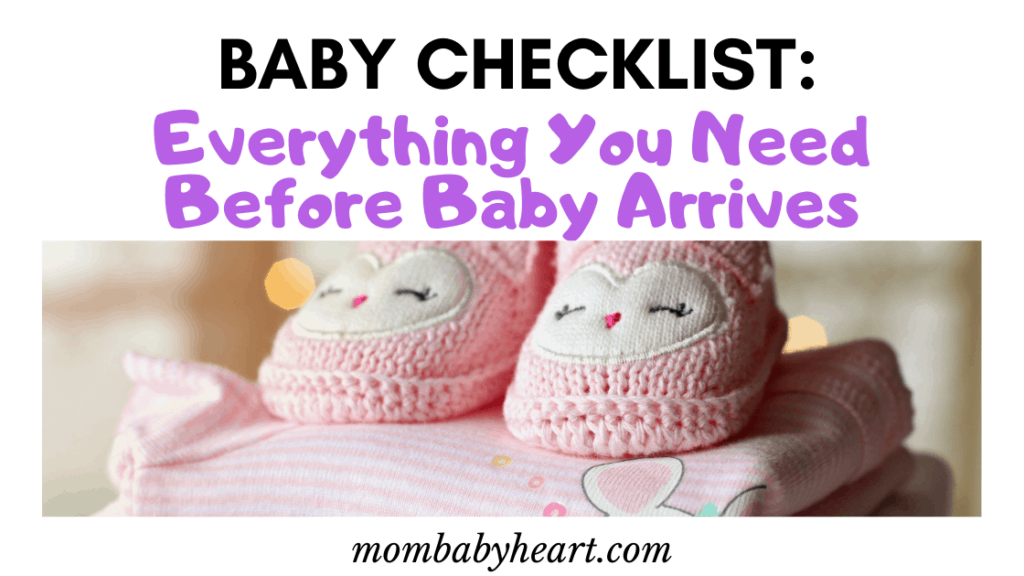 image for baby checklist