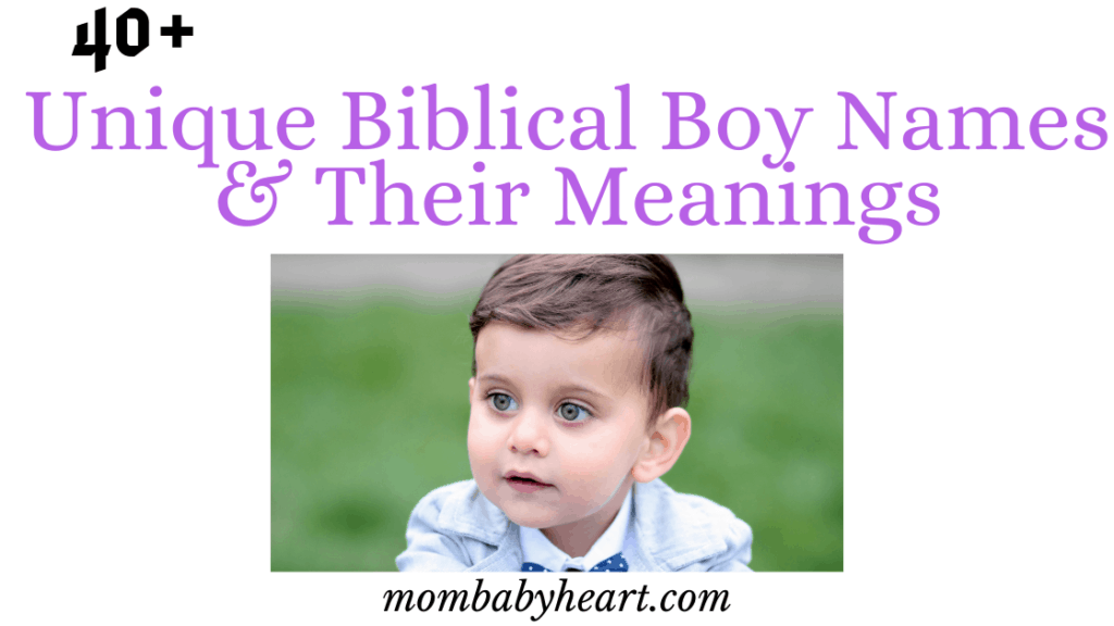 Image of biblical boy names