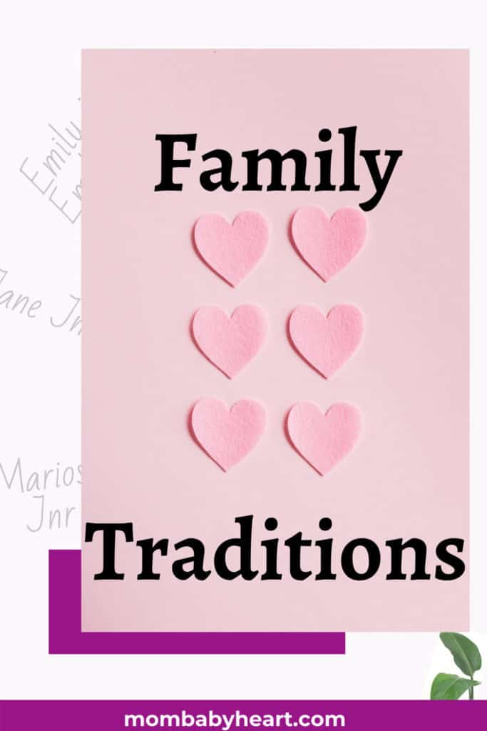 Photo of family traditions
