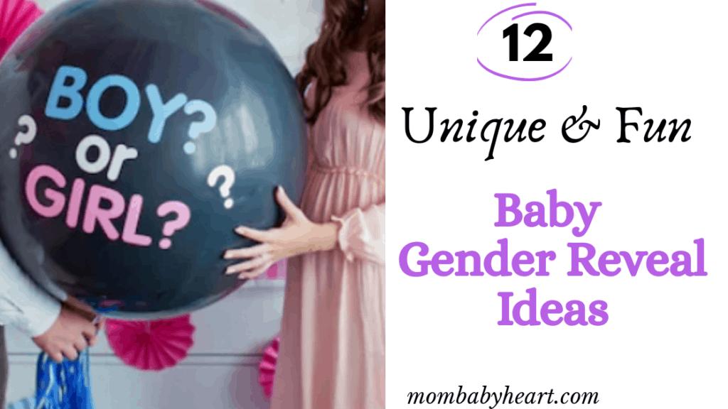 image of gender reveal idea