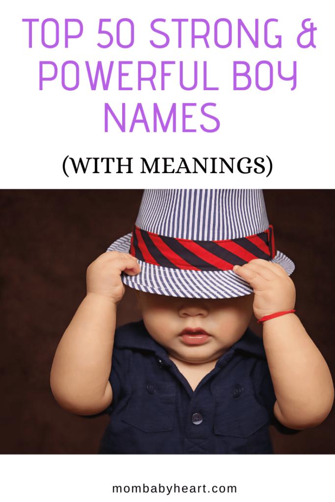 Pin Image Of Strong Boy names