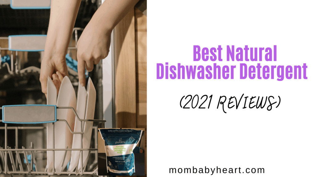 Image of natural dishwasher detergent