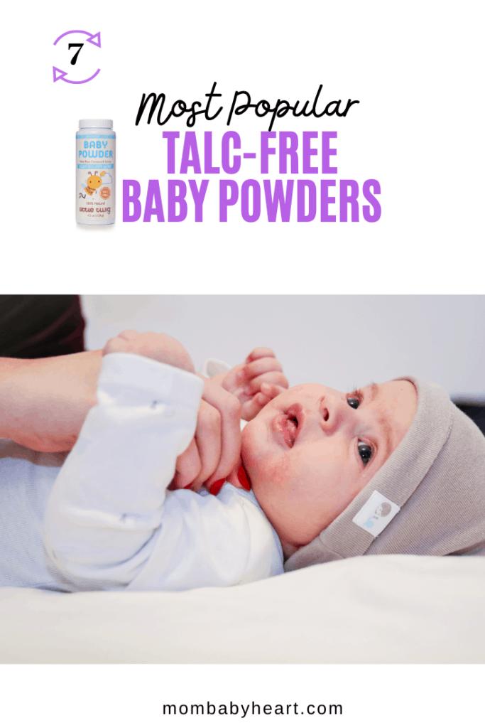 Pin Image of Talc free baby powder