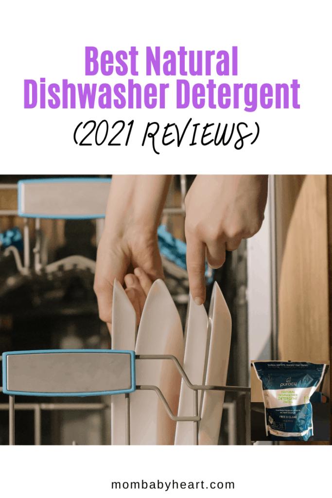 Pin Image of natural dishwasher detergent