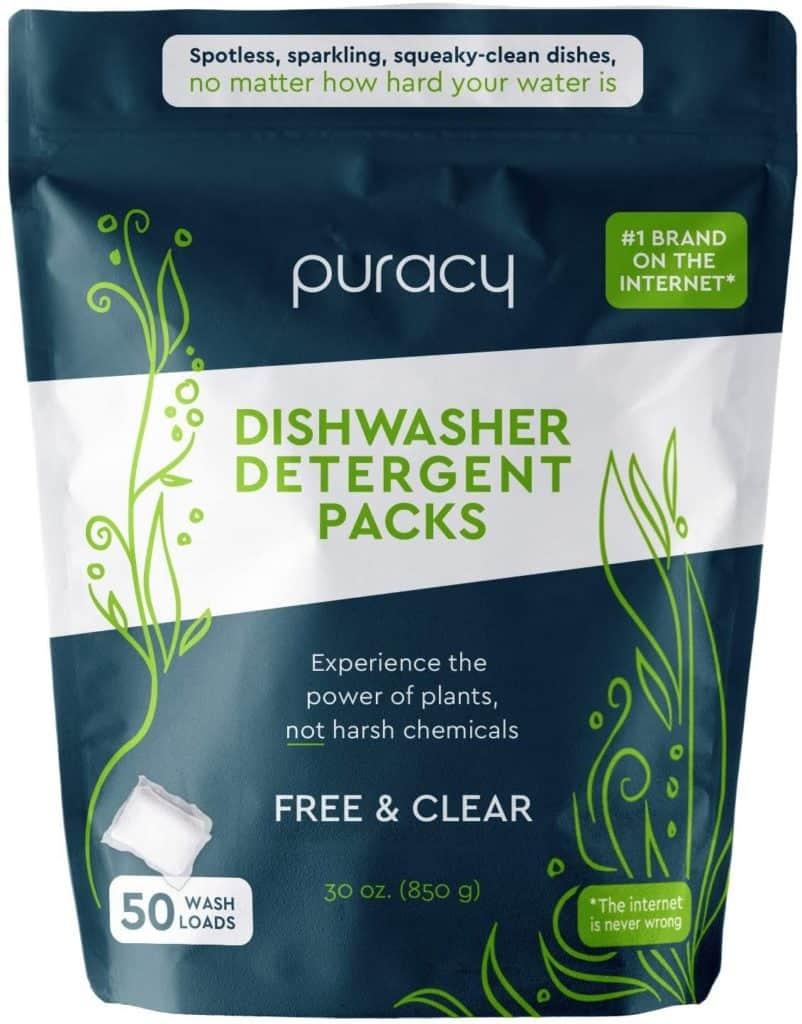 Photo of Puracy Natural Dishwasher detergent