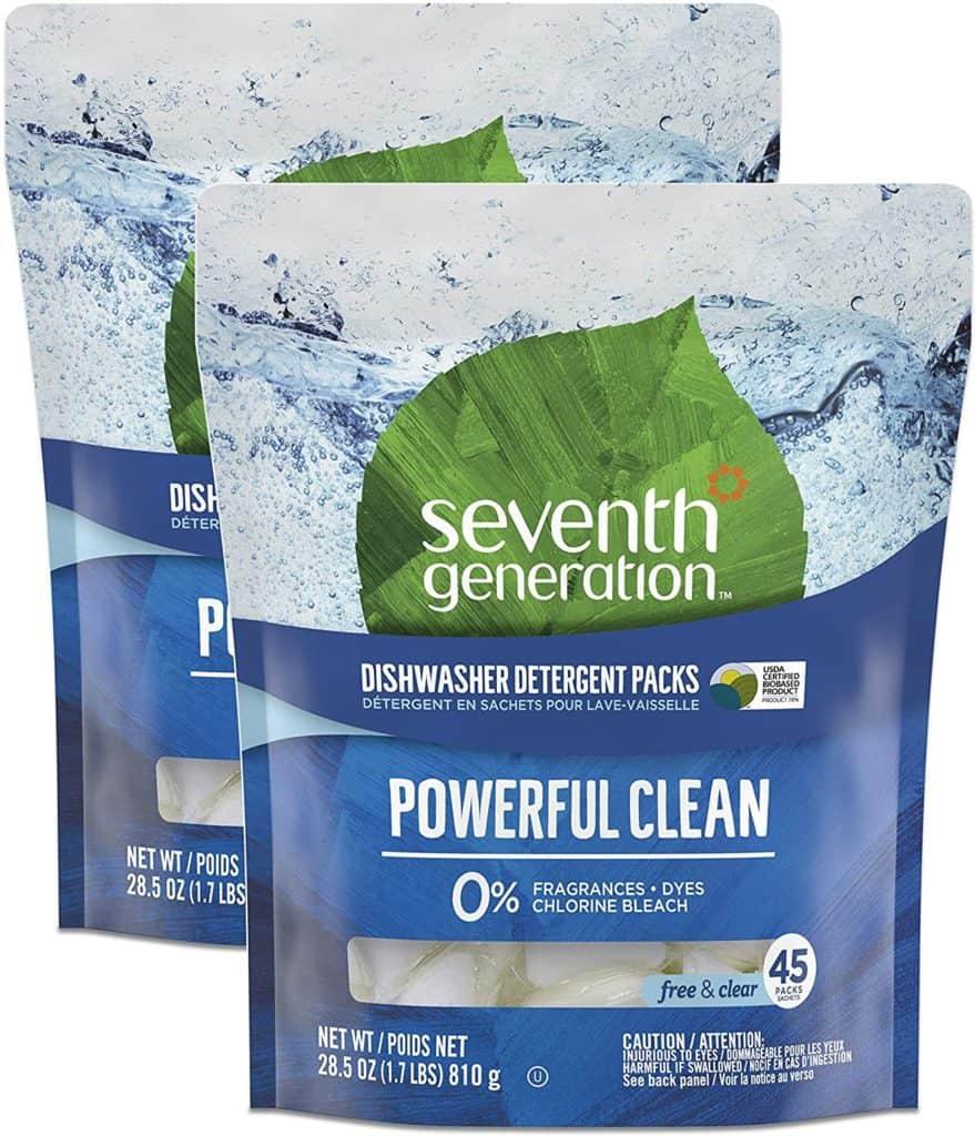 Photo of Seventh Generation Natural Dishwasher detergent