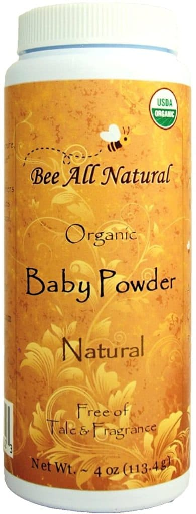Photo of Bee All Natural  talc-free baby powder