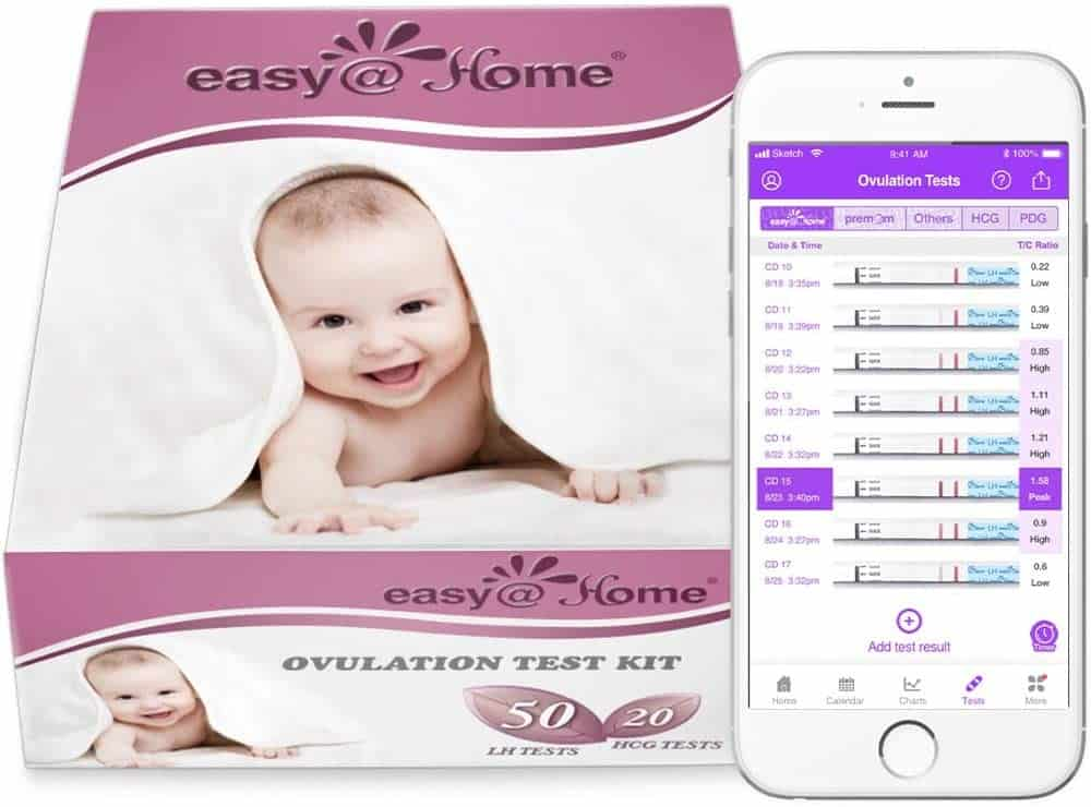 Photo of Easy@home kit; one of the best ovulation Test available