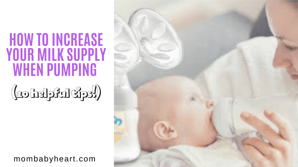 Image of how to increase milk supply when pumping