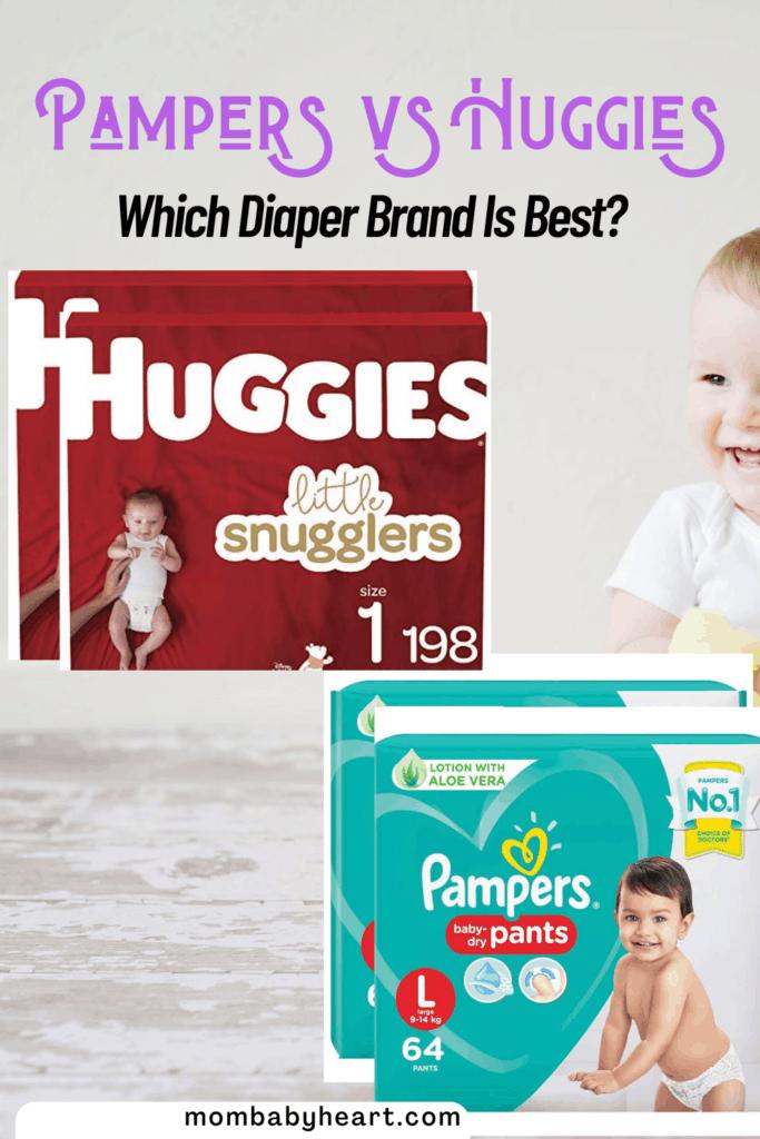 Pin Image of Pampers vs Huggies