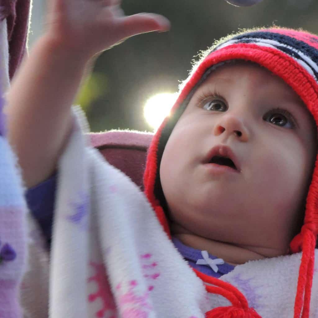 Photo of a beautiful child