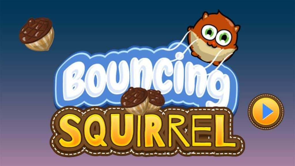 Photo of Bouncing Squirrel; a chat game for kids