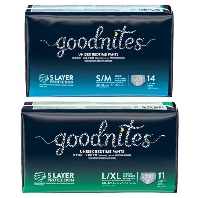 Photo of Huggies Goodnites diaper brand