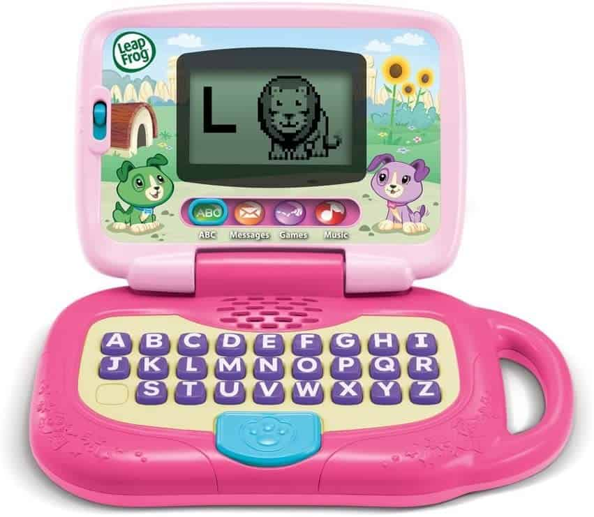 Photo of Leapfrog laptop; a great computer for toddlers