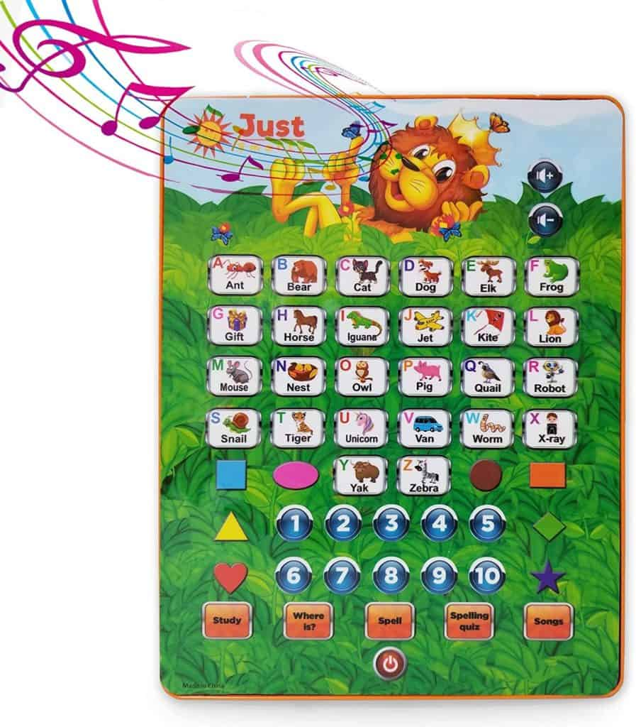 Photo of Just Smarty ABC Tablet;  a great computer for toddlers