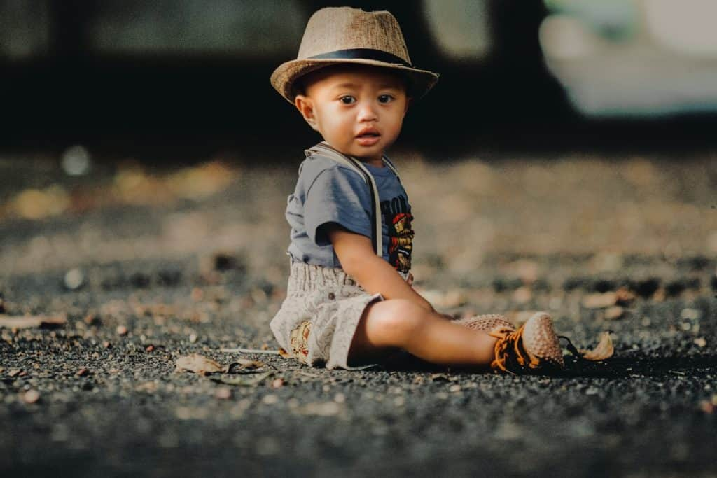 Photo of a cute boy; korean boy names are suitable for your baby