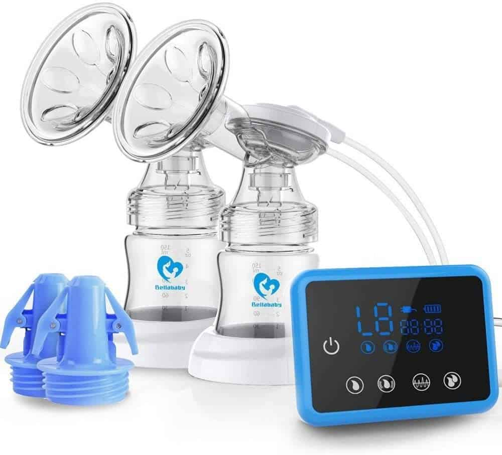 Photo of a double breast pump