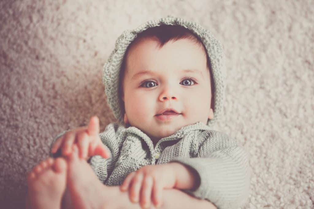 Photo of a beautiful baby