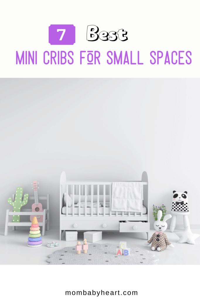 Pin image of best mini crib