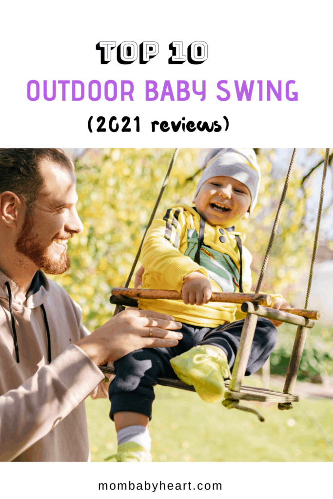 Pin image of outdoor baby swing