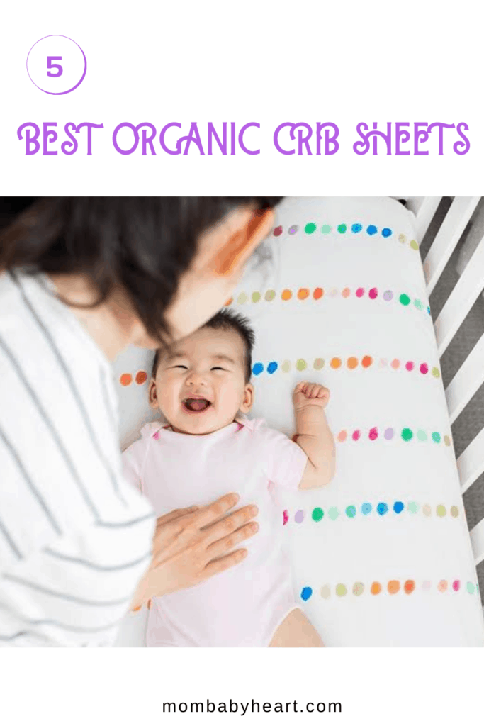 Pin image of best organic crib sheets
