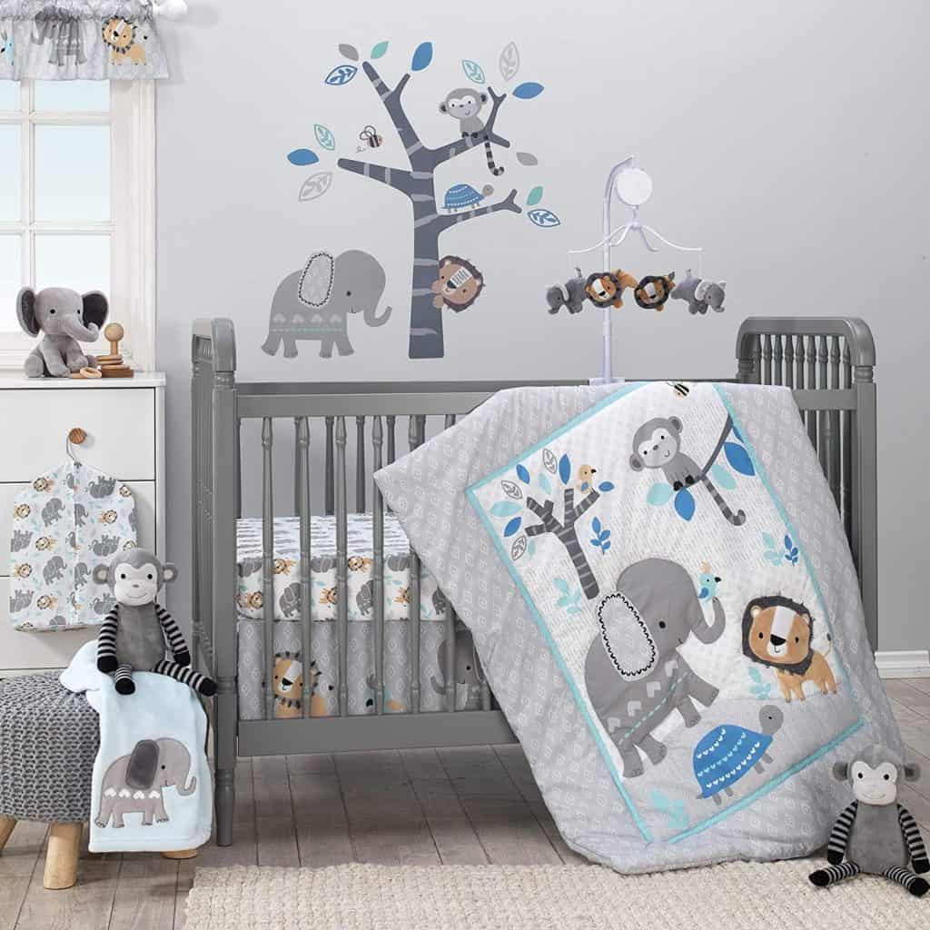 Photo of Bedtime original Jungle set; one of the durable cheap cribs