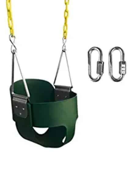 Photo of Safari High full bucket outdoor baby swing