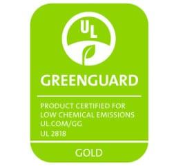 Photo of Greenguard Gold Certified logo