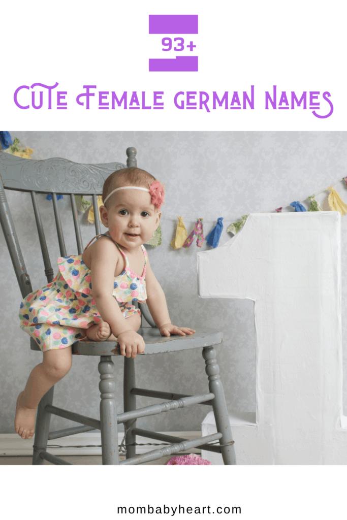 Pin Image of Female German Names
