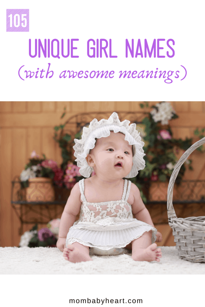 Pin image of unique girl names