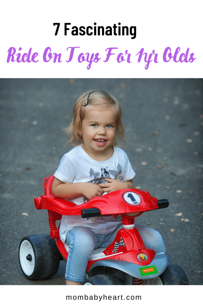 Pin image of Ride on toys for 1 year old