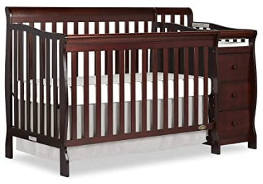 Photo of Dream On Me Convertible crib with changing table