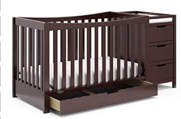 Photo of Graci Remi crib with changing table