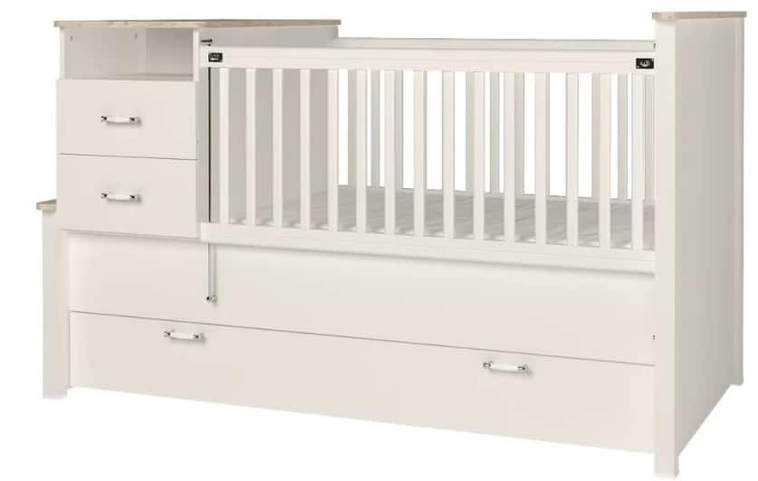 Photo of Bayside Baby crib with changing table