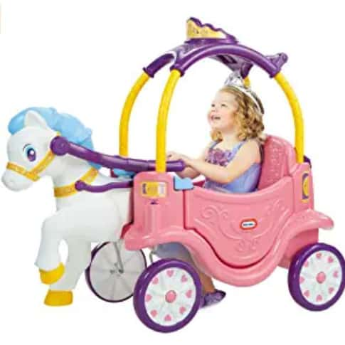 Photo of Little tikes princess; one of the best Ride on toys for 1 year old