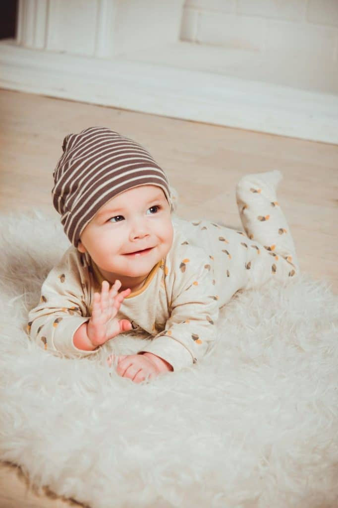 Photo of a baby; unique names for girls are perfect