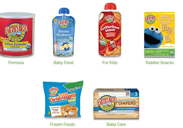 Photo of Hain Earth's Best; one of the organic baby food brands to avoid