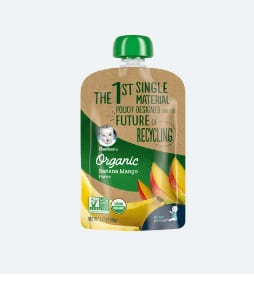 Photo of Gerber organic baby food; one of the unsafe brands to avoid