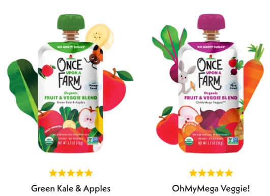 Photo of Once upon a farm; one of the best organic baby food
