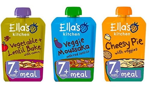 Photo of Ella's Kitchen; one of the best organic baby food