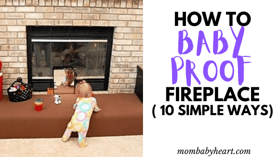 image of baby proof fireplace