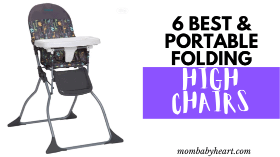 Image of folding high chair