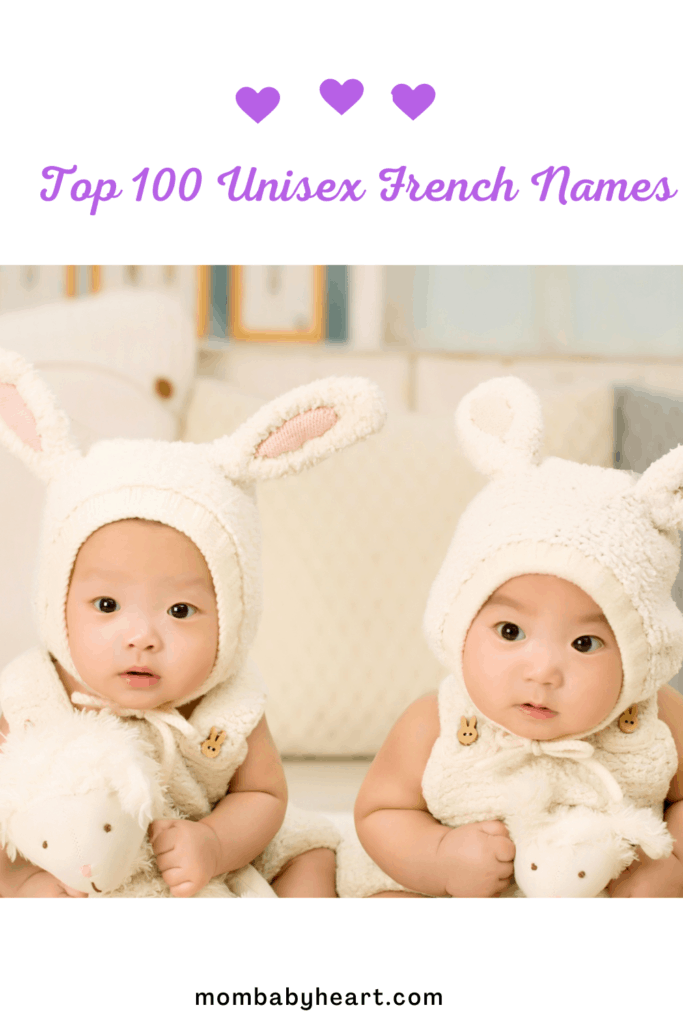 Pin Image of Unisex French Names