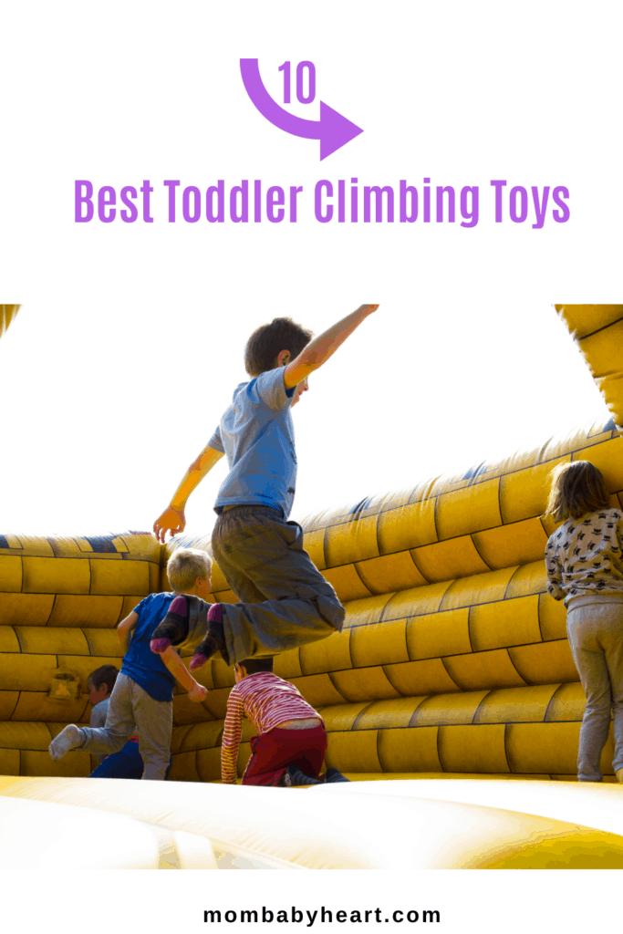 Pin Image of 10 Best Toddler Climbing Toys