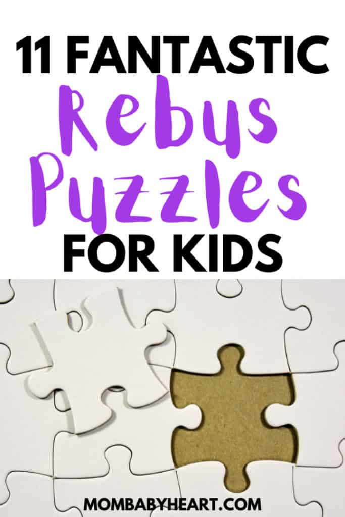 Pin image of rebus puzzles for kids