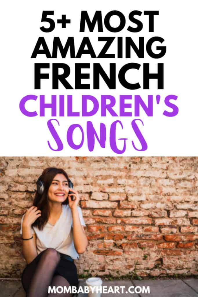 Pin image of French children's songs