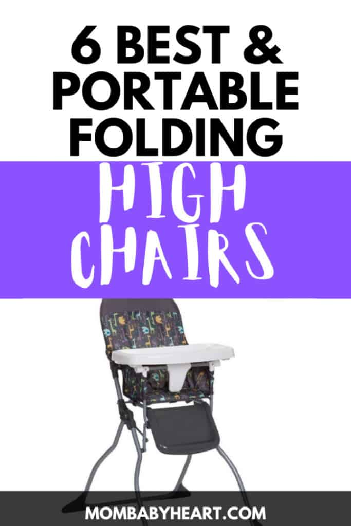 Pin image of folding high chair