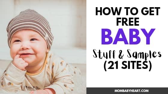 Photo of free baby stuff