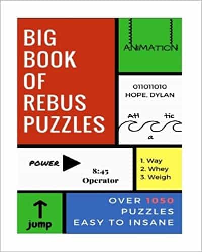 Photo of a rebus puzzle for kids